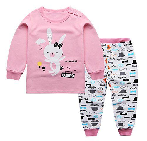 4cea78a34057 ACE SHOCK Pajamas Set Little Girl Long Sleeve