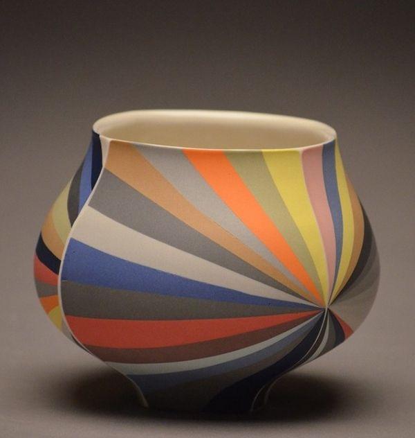 Ceramics by Peter Pincus.