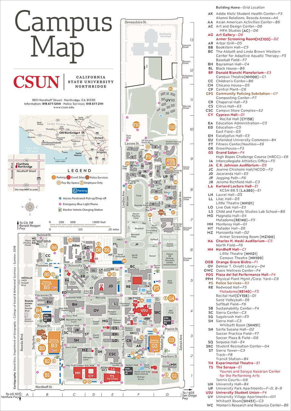 California State University Map