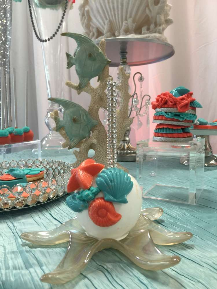 Under the Sea Quinceaera Party Ideas in 2019 | Ocean ...
