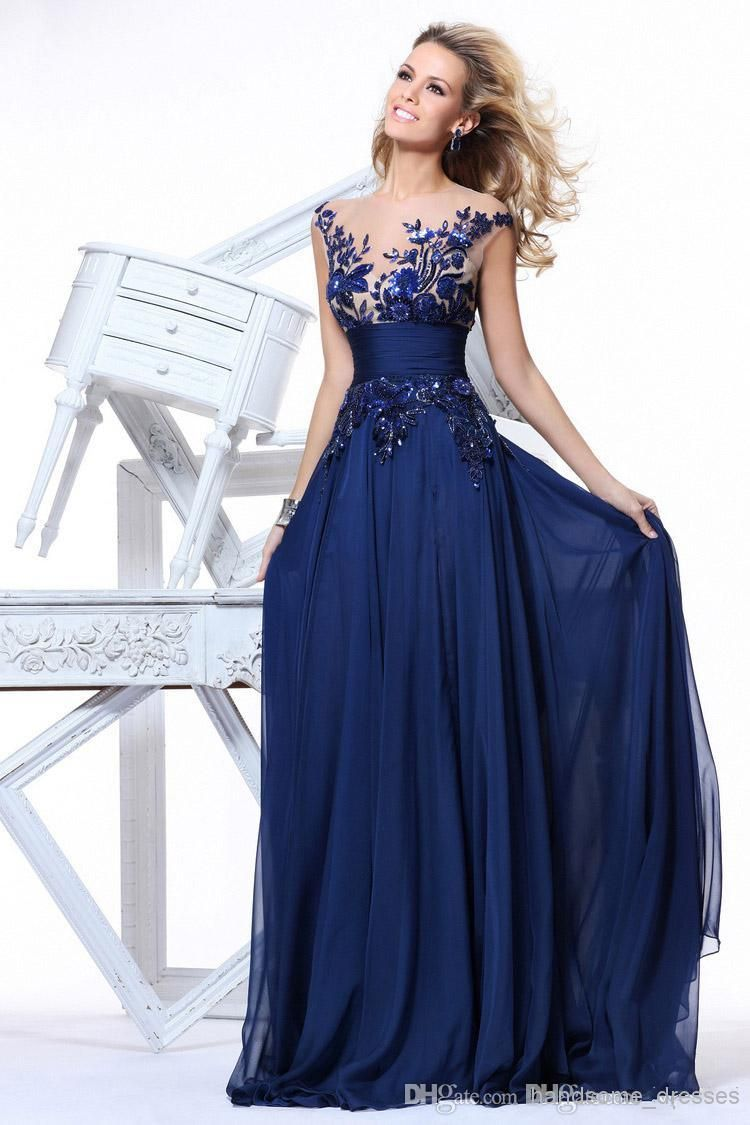 Sd064 89 2014 Us Size 2 16 In Stock New Chiffon Cocktail Homecoming Prom Party Dresses Evening Gowns Chiffon Royal Blue Or Or Custom Made From Handsome Dresses Prom Dresses Blue Chiffon Evening [ 1125 x 750 Pixel ]