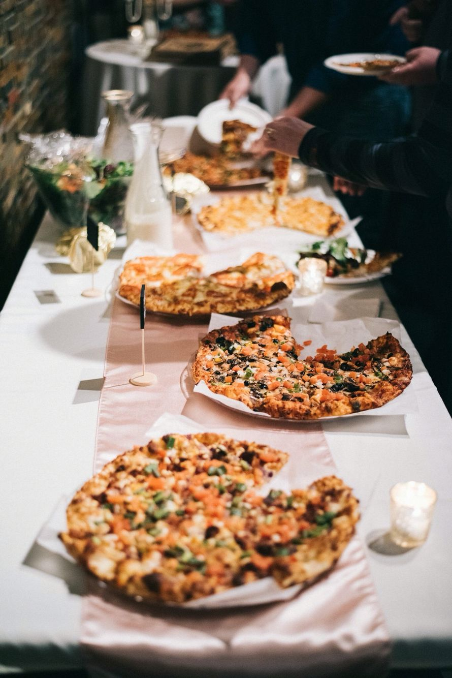 Wedding Pizza Bar Food Truck Wedding In Boston With Stoked Wood