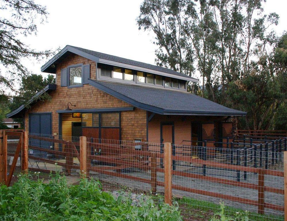 Addition to pole barn horse barn construction for Horse barn builder