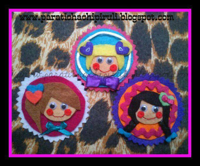 Camafeos para niñas