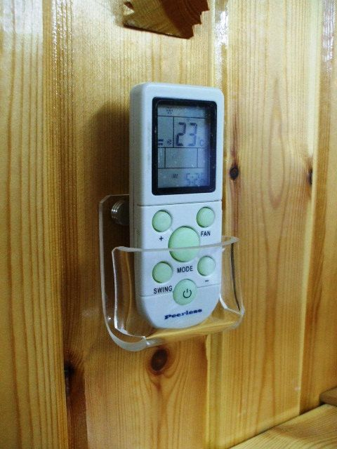 Ac Remote Control Wall Installation Holder Stand Display
