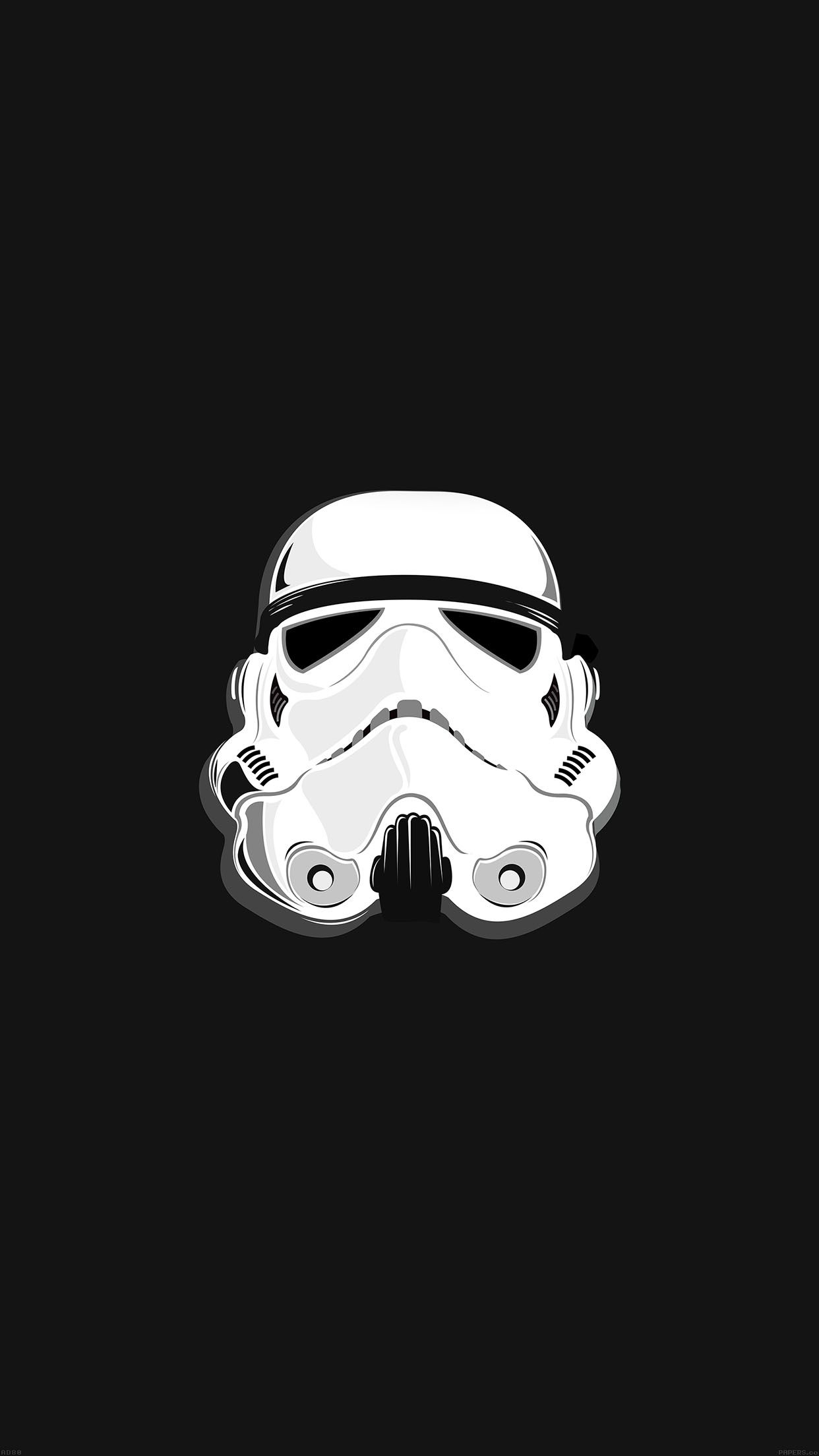 Star Wars Stormtrooper Illustration iPhone 6 Plus HD
