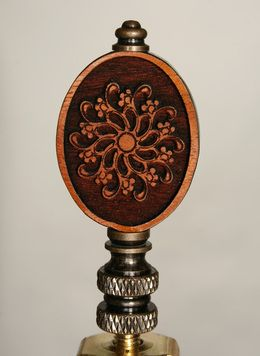 Carved Wooden Finial Carving Finials Lamp Finial