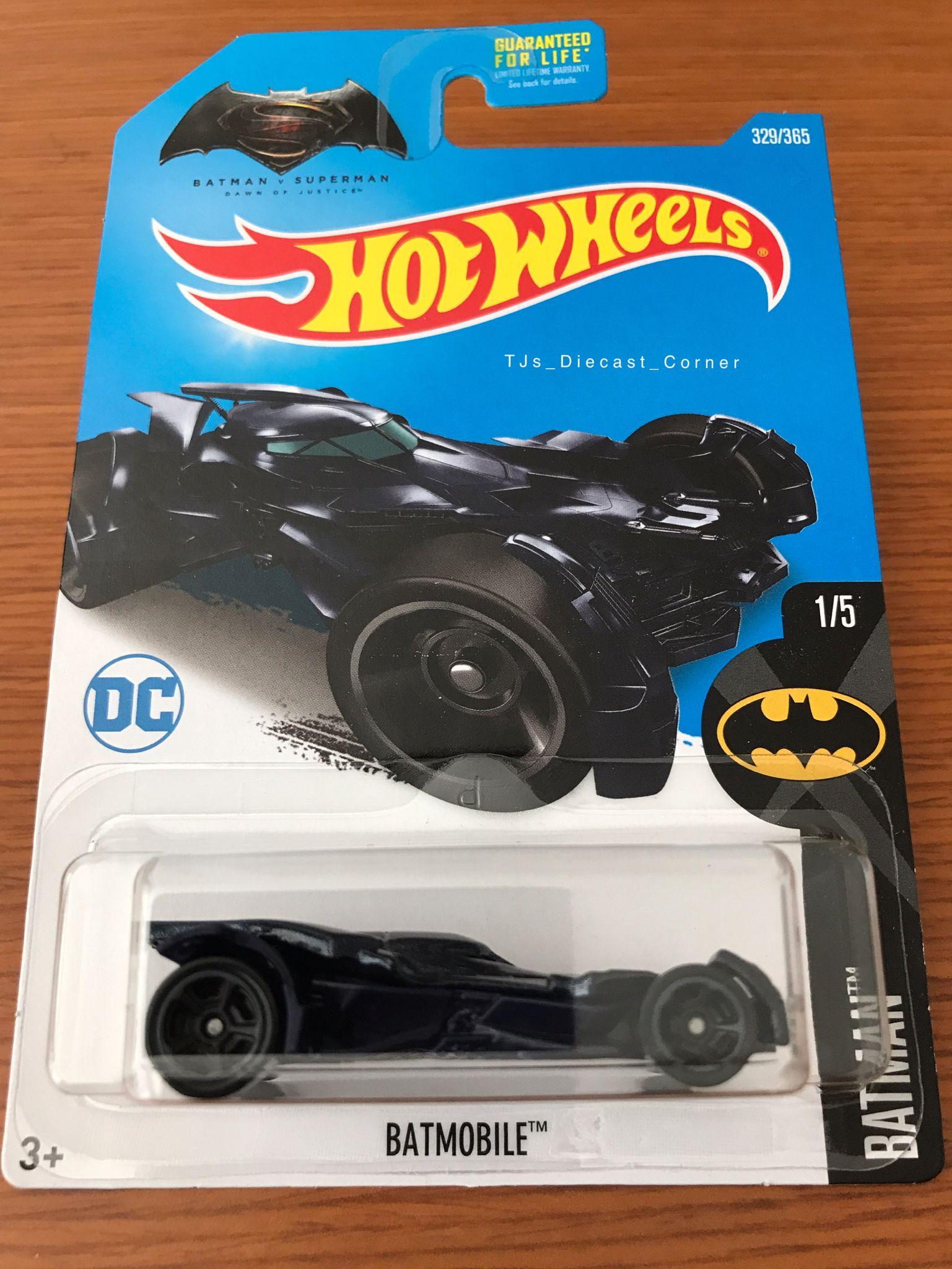 2017 Hot Wheels Bvss Batmobile Black And Purple Variant With