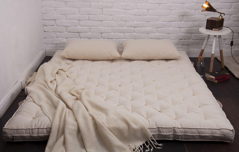 7 Wool Mattress 3 Day Express Shipping Home Of Wool All Natural Mattresses Floor Bed Japanese Floor Bed Wool Mattress