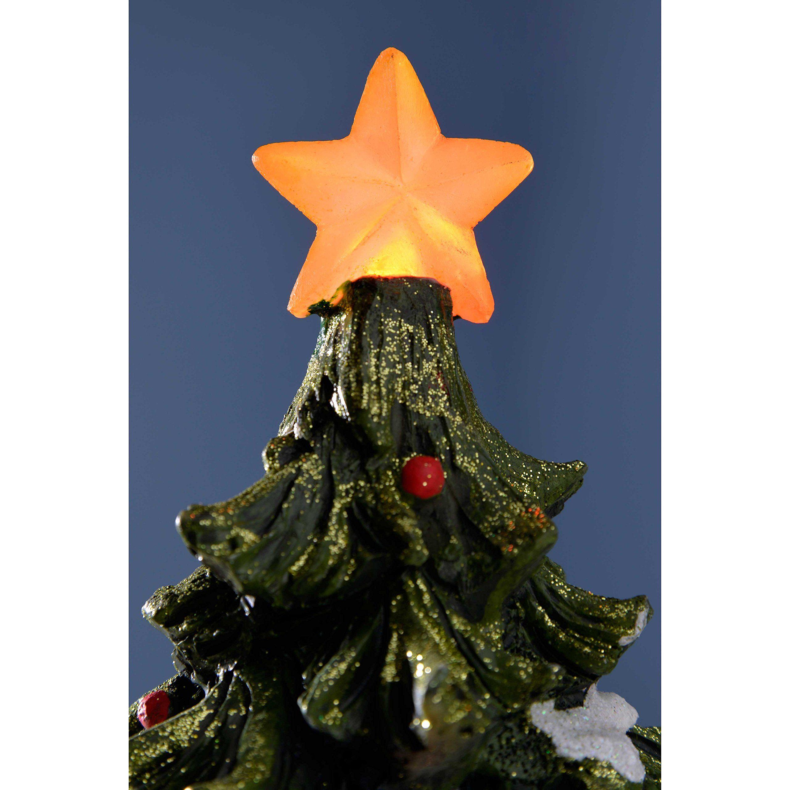 Werchristmas Prelit Led Christmas Tree Scene With Rotating Train Decoration 32 Cm Multicolour Read More At T Led Christmas Tree Train Decor Christmas Tree