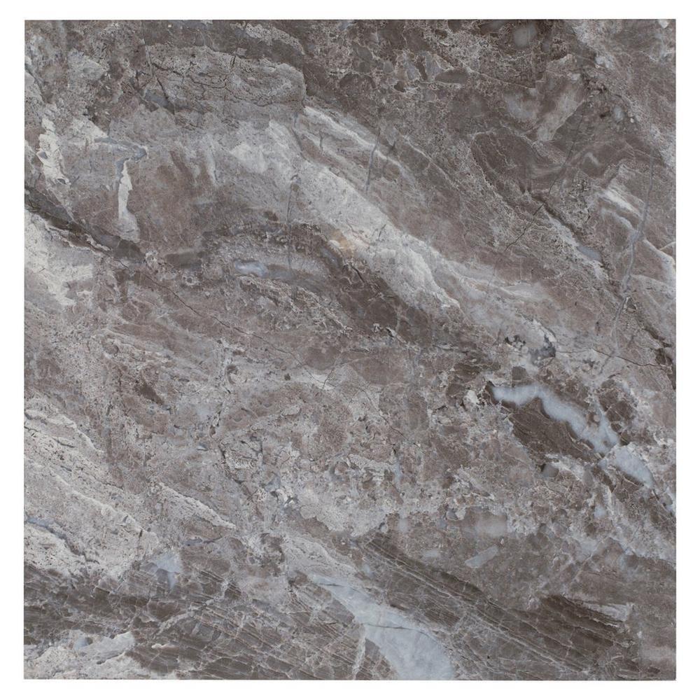 Nairobi Gray Ceramic Tile - 18in. x 18in. - 100154418 | Floor and Decor
