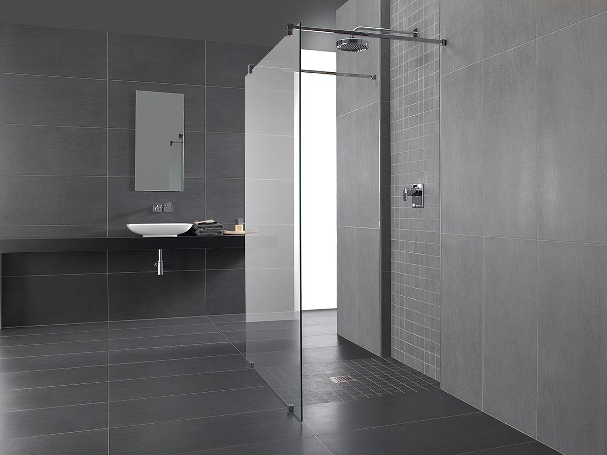 Moderne badkamer badkamer pinterest badkamer moderne badkamers en badkamers - Eigentijdse badkamer grijs ...