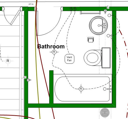 Basement Bathroom Design Layout It Helps To Design Your New Bathroom Layout Before You Remodel