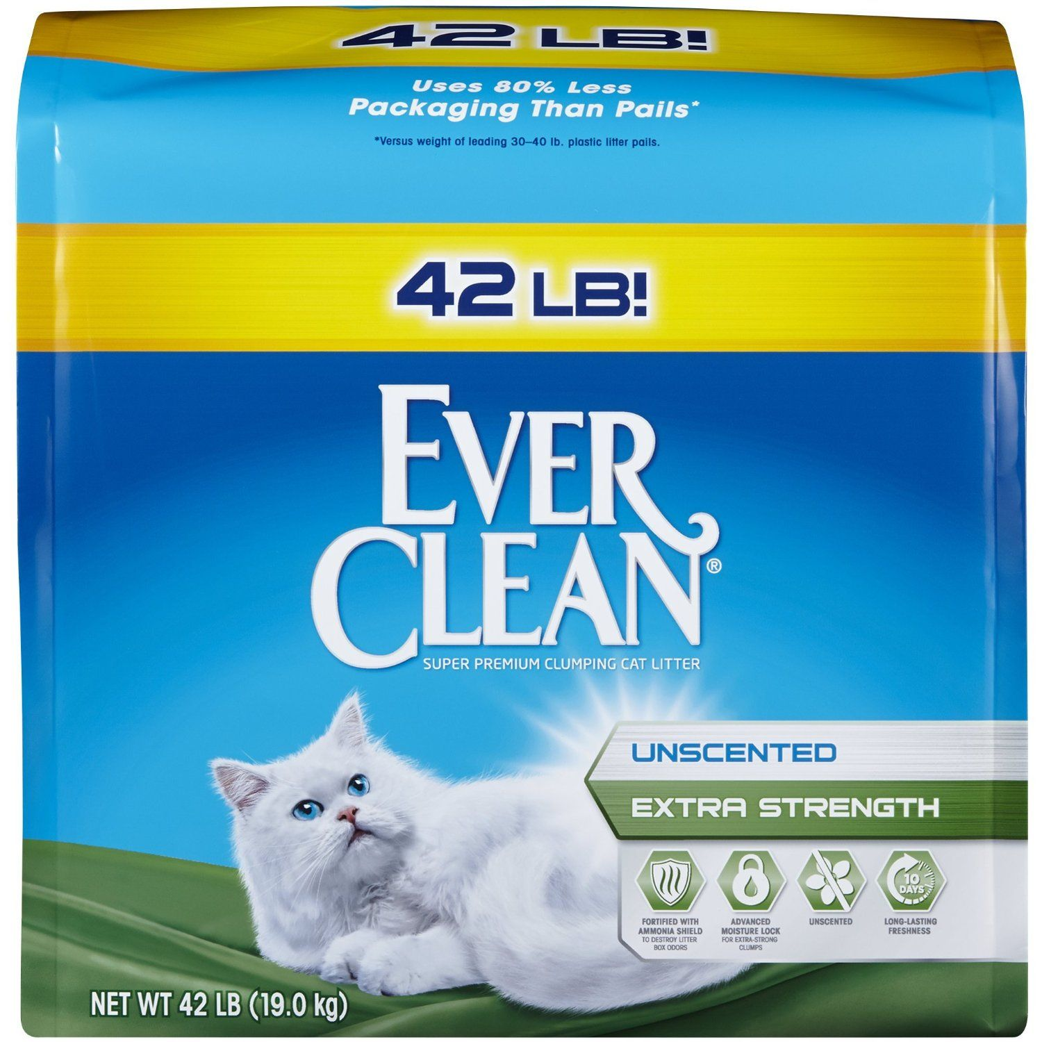 8. Ever Clean Extra Strength Cat Litter http//amzn.to