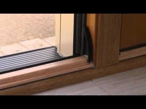 Door Weather Stripping With Pella Performaseal Youtube