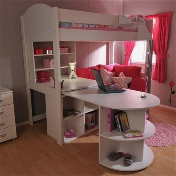 Bunk Beds With Desk And Sofa Bed Concept Sofabed
