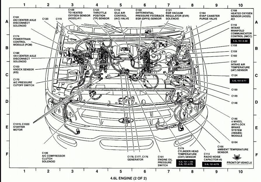 15 1994 Ford Ranger Engine Wiring Diagram Engine Diagram Wiringg Net Ford F150 F150 Ford Ranger
