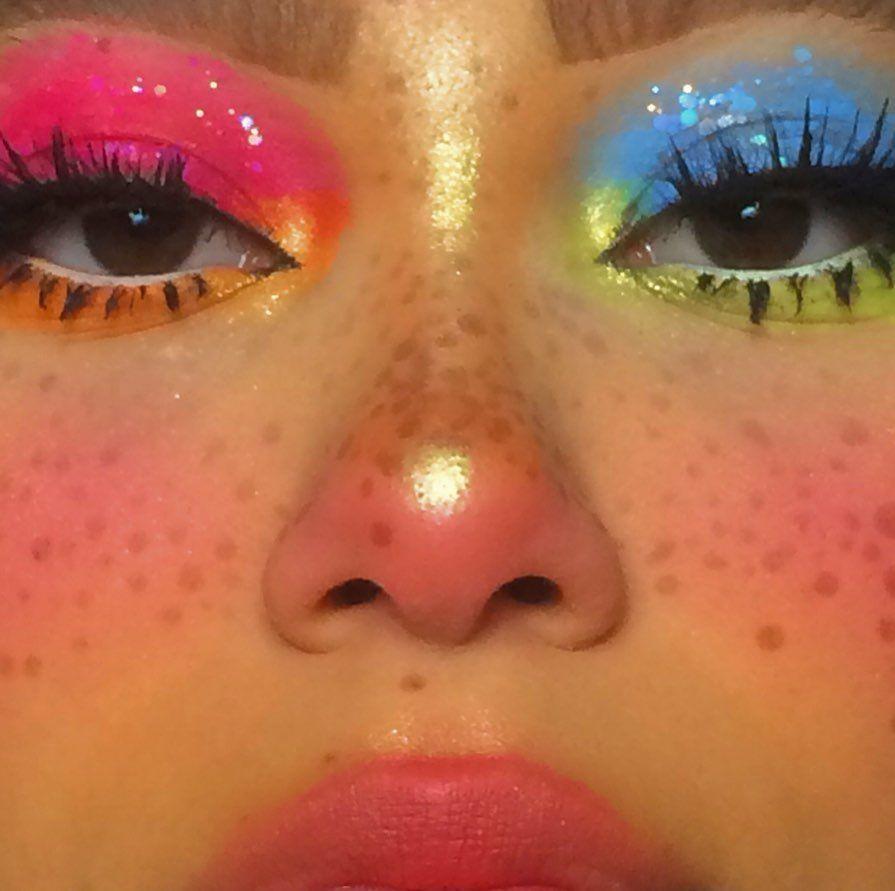 "Photo of ♡ · ゚ · ゚ ✧𝖙𝖆𝖆𝖎𝖗𝖆𝖍 𝖗𝖊𝖎𝖉 ♡ · ゚: * · ゚ ✧ na Instagram: ""mám dělat barevnější lerrrks jako dis jeden – Blog"