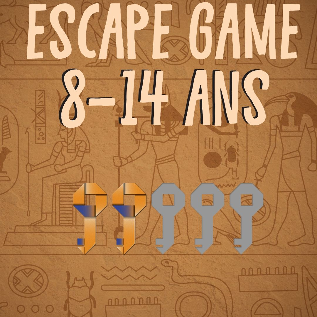 Escape Game 8 - 14 ans egypte anniversaire | Escape game enfant, Jeux alphabet, Theme centre de ...