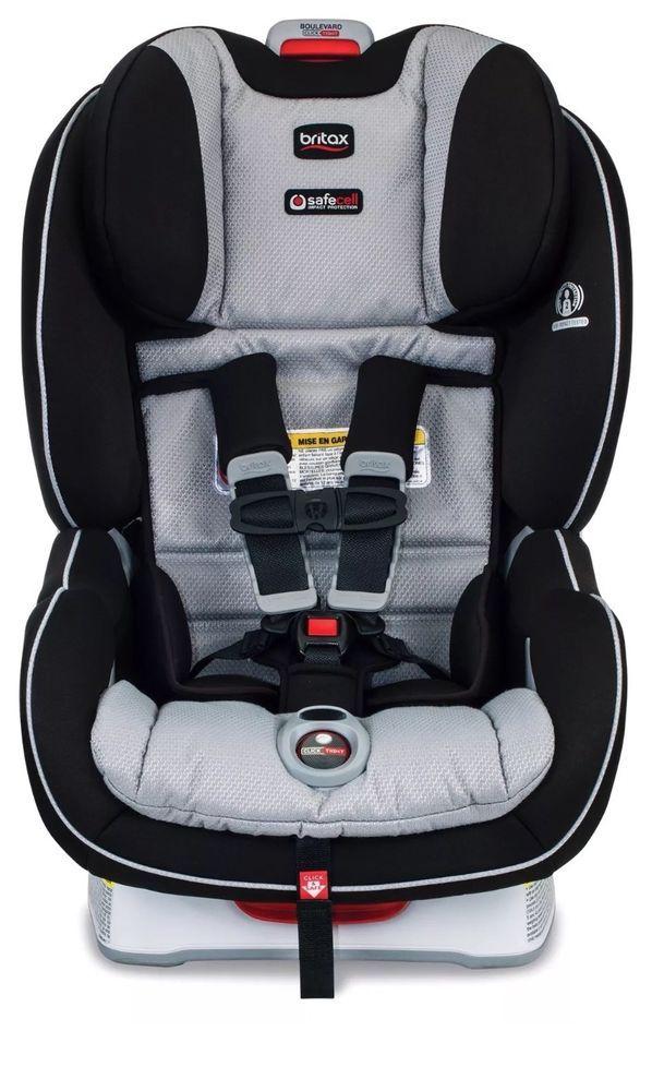 Britax Boulevard Clicktight Convertible Car Seat Child Safety Trek