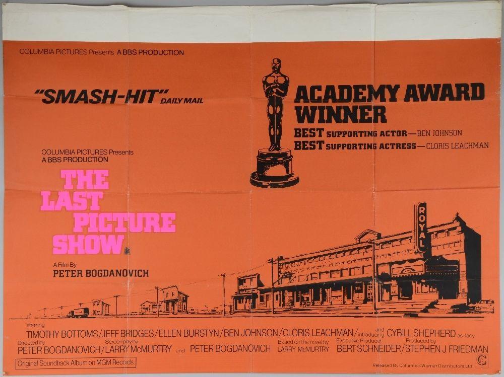 The Last Picture Show 1971 Vintage Original UK Quad Movie Poster ...