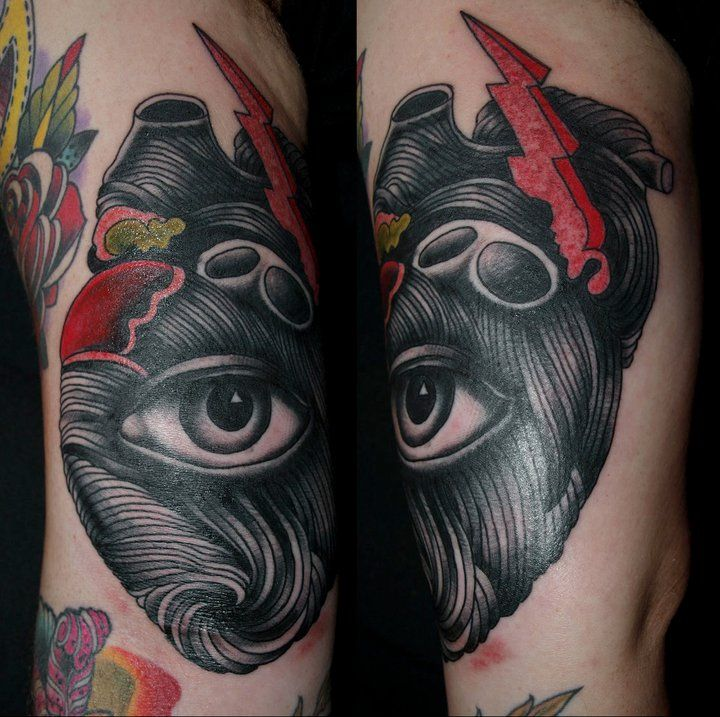 See With Your Heart Tattoo by Pietro Sedda