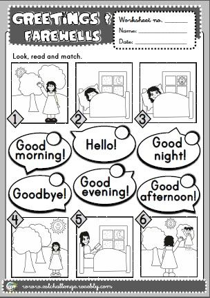 Greetings worksheet ingls pinterest teaching resources greetings worksheet m4hsunfo