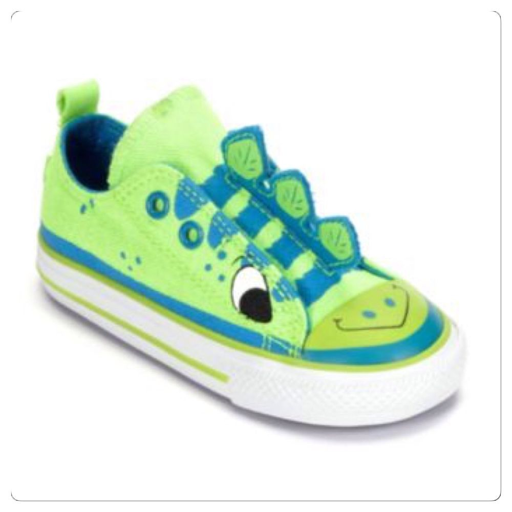 949b96d159ab Kids Converse Chuck Taylor All Star Dinosaur Toddler Size 4 Shoes  Converse