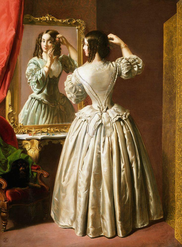 Loumargi 19th Century Fashion Dressed To Kill Vintage Illustration