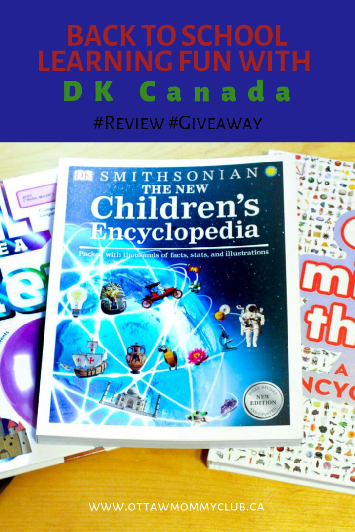 Back To School Learning Fun With Dk Canada Review Giveaway Can