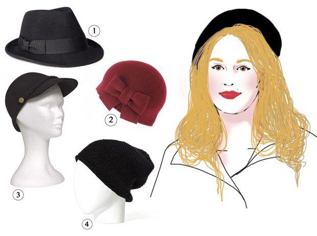 Célèbre Conseils morpho — Quel chapeau pour votre tête ? | Visages ronds  LZ41