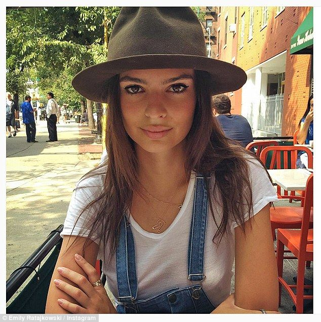 That's not yours! At one point the actress pinched her husband's fedora and shared a snap of her style on Instagram, which she captioned, 'Welcome to New York!'
