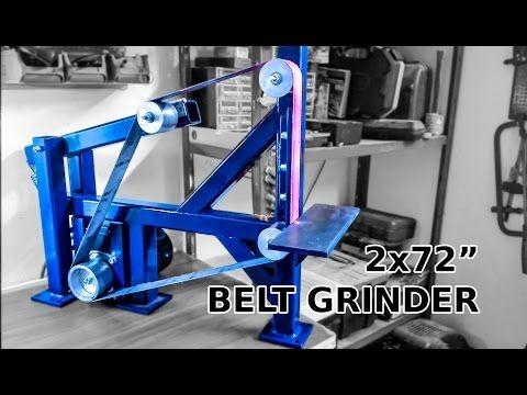 Remarkable Awesome Diy 2X72 Belt Grinder Youtube Belt Grinder Machost Co Dining Chair Design Ideas Machostcouk