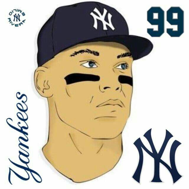 Mr. Judge | Sport1Teams | Pinterest | Ny yankees, Baseball art and ...