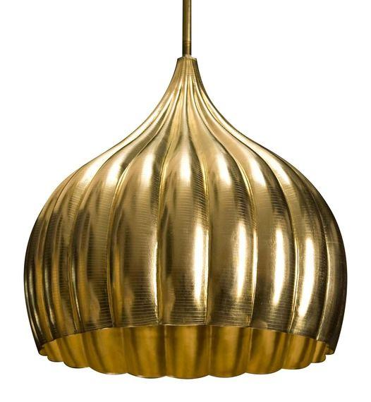 Mughal Hanging Light Brass By Stephanie