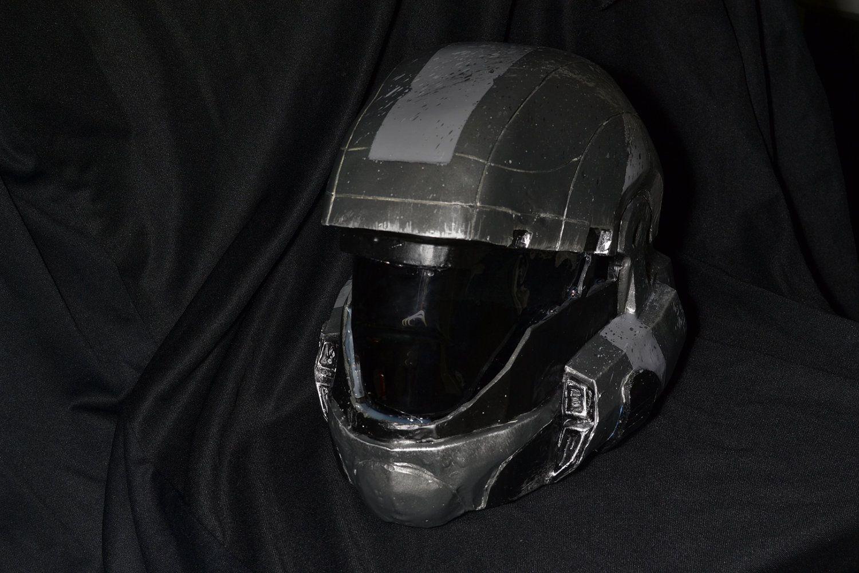 Halo 3: ODST - Wearable Custom Helmet  $250 00, via Etsy
