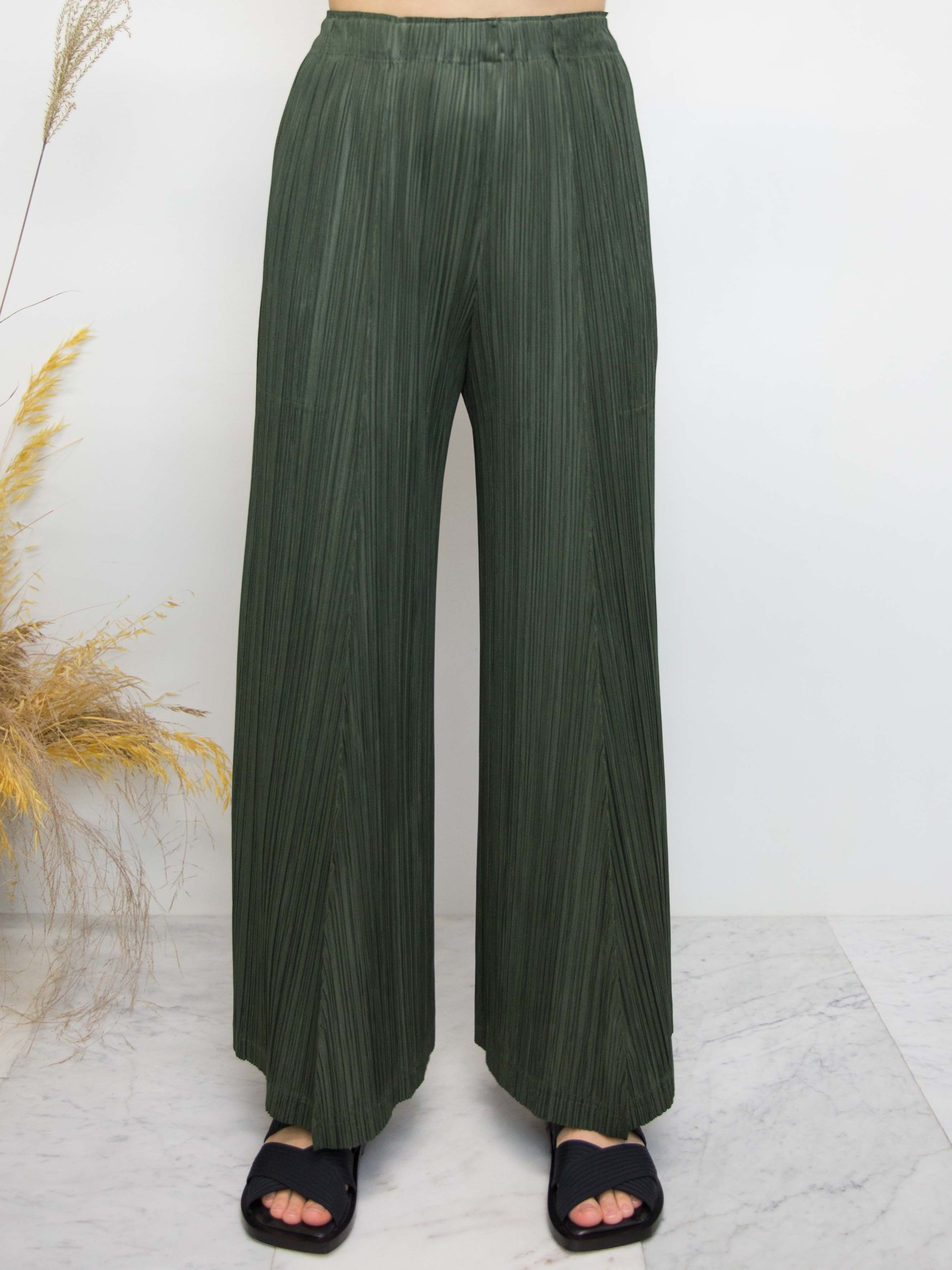 ae494b42a00c PLEATS PLEASE ISSEY MIYAKE Thicker Bottoms 2 Wide Pants