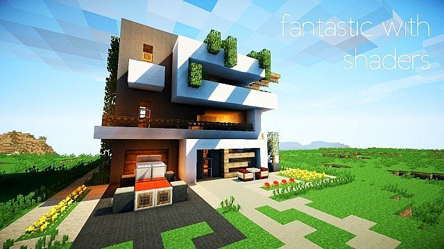 Pamplemousse Resource Pack - Minecraft house download 1 7 10