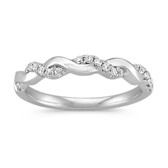 Diamond And Platinum Infinity Wedding Band Diamond Infinity Wedding Band Diamond Wedding Bands Infinity Wedding Band