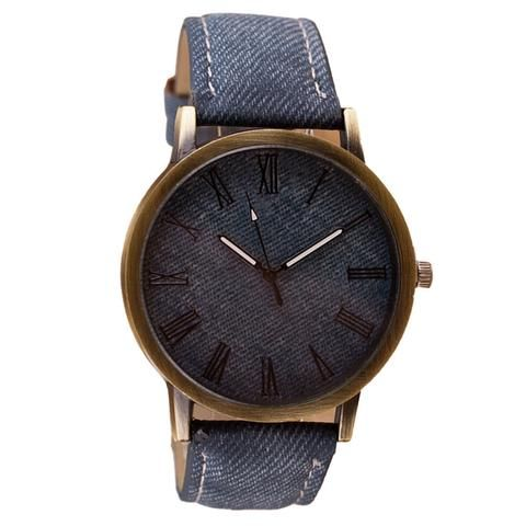 Faux Leather Casual Wristwatch - Top Men's Gift Ideas