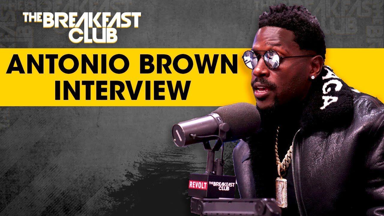 Antonio Brown Speaks On Problematic Behavior, Ben