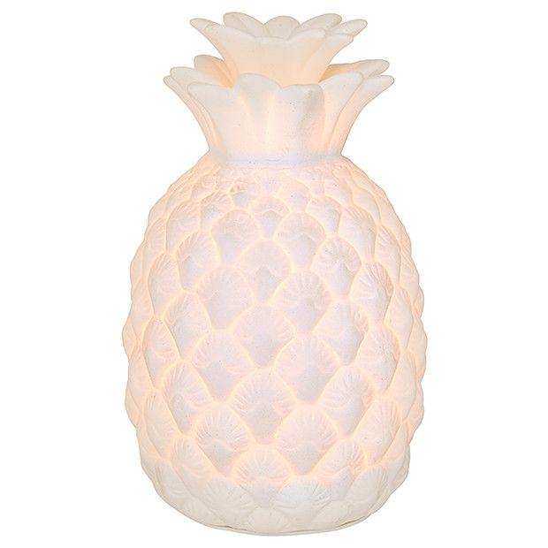 LTD Pineapple Ceramic Lamp   Target Australia