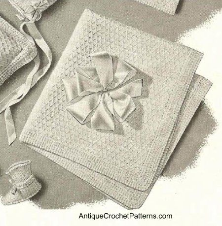 Vintage Crochet Baby Blanket | Crochet: Vintage | Pinterest