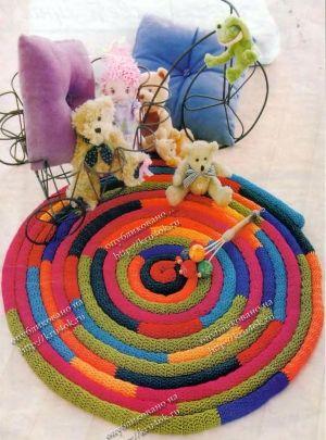Crochet Rug by begonvilliev