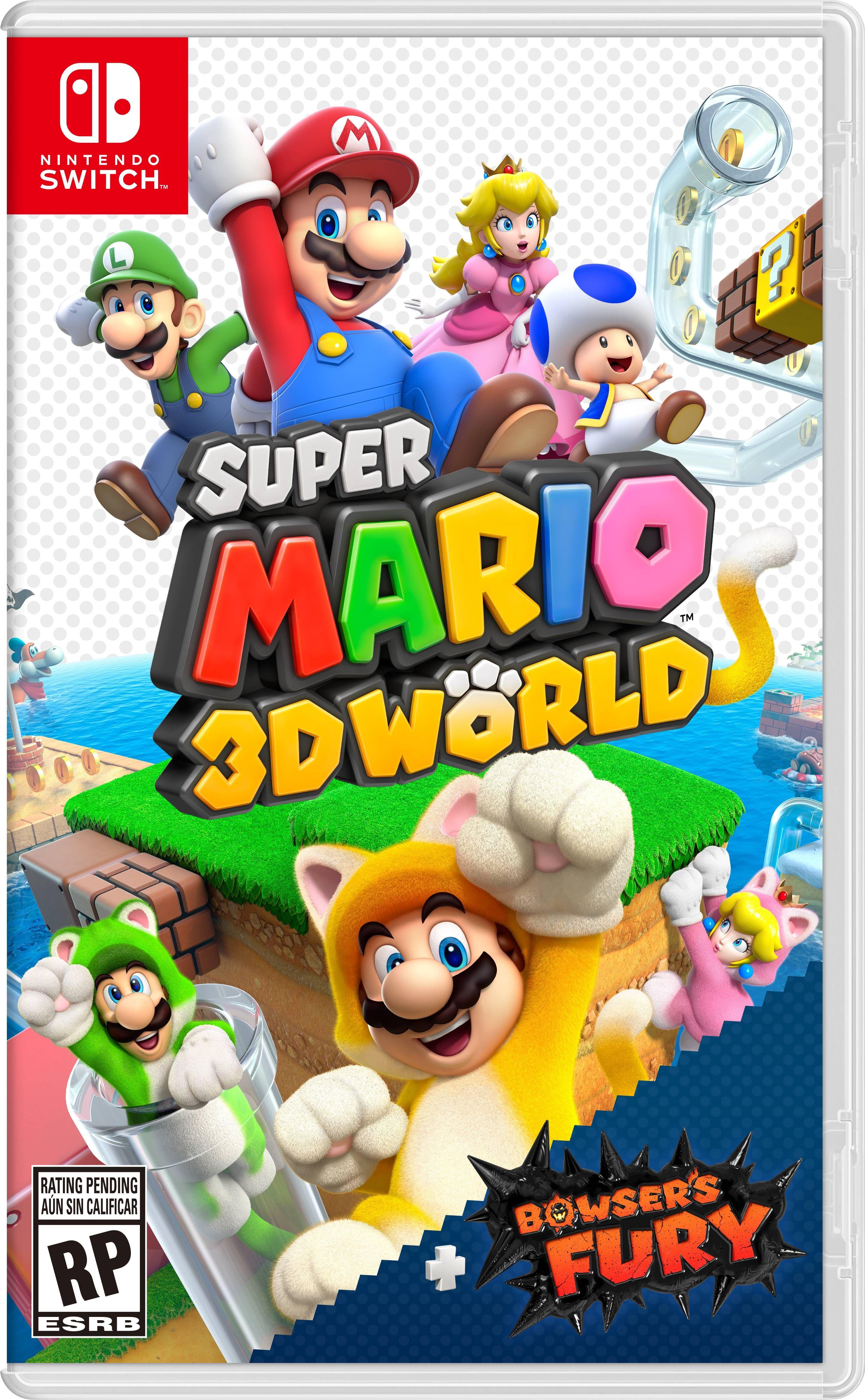 Super Mario 3d World Bowser S Fury Nintendo Nintendo Switch 00045496594022 Walmart Com In 2021 Super Mario 3d Nintendo Switch Games Nintendo Switch Super Mario