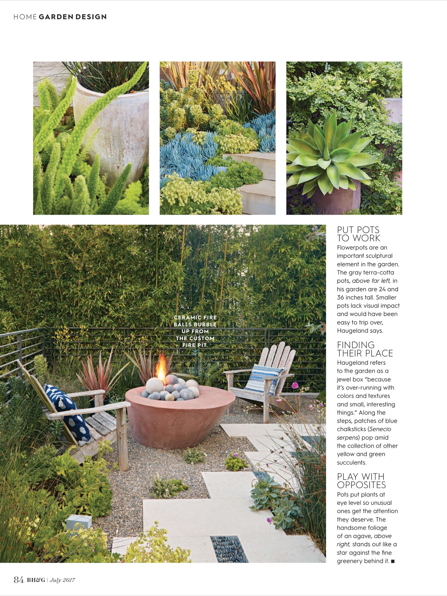 better homes and gardens landscape design.  Jewel Box Garden from Better Homes and Gardens July 2017 Read it