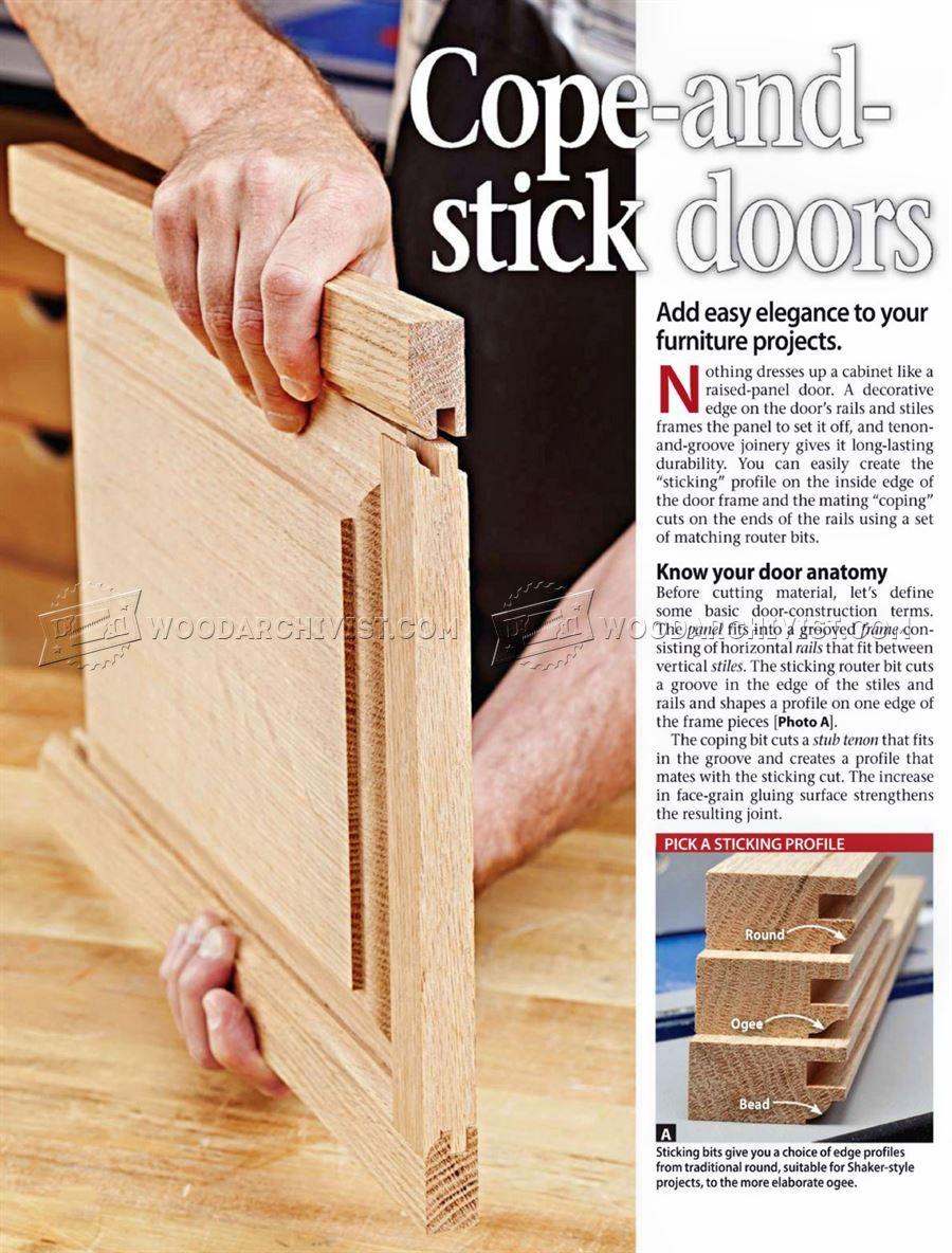 2026 Cope And Stick Doors Cabinet Door Construction Woodwork