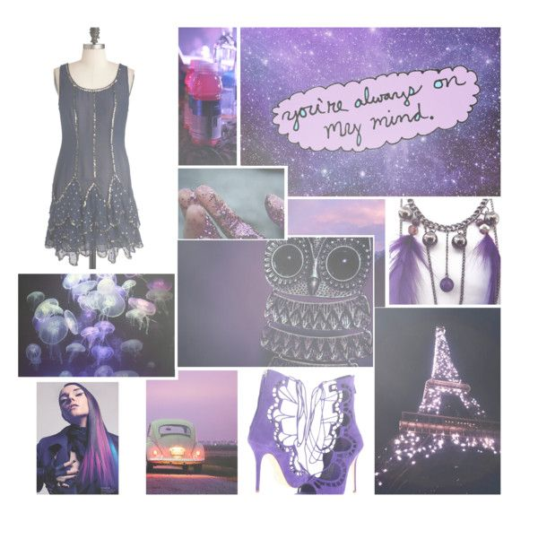 """A passion for purple"" by lovemydog81 ❤ liked on Polyvore"