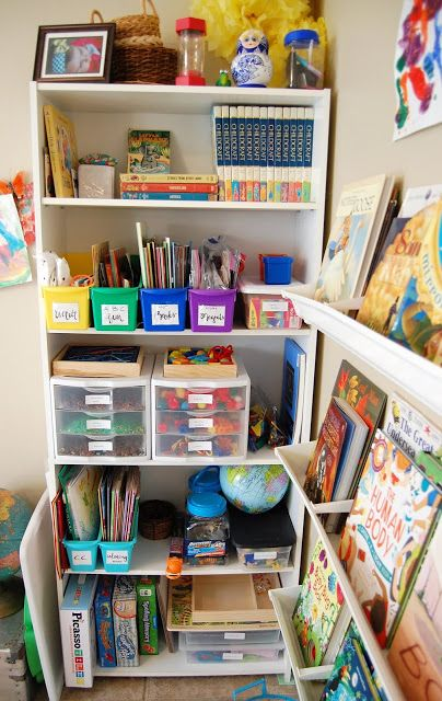 Home School: Preschool Classroom Set-up #preschoolclassroomsetup