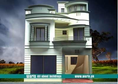 Waris house  view elevation  in gujranwala pakistan also  cantt rh pinterest